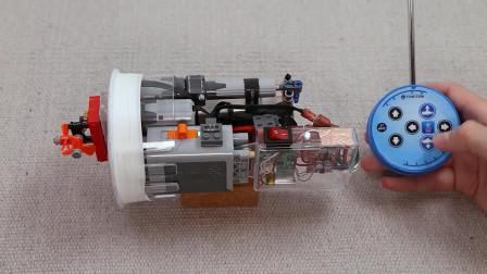 """把水壶改造成一个潜水艇,这才是""""技术大牛""""!"""