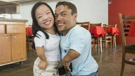 """世界上 """"最矮""""夫妻,两人身高均不足0.9米,如今婚后生活怎么样了"""
