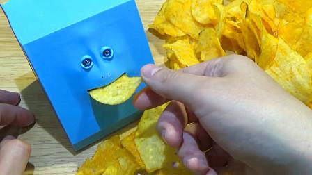 老外网购回个存钱罐居然还会吃薯片网友看这脸就知道不简单