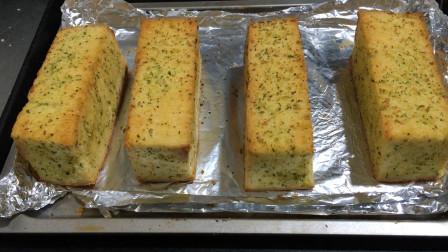 甜面包吃腻了?面包师教你做蒜香包,只需4步骤普通食材也能做出好吃的味道