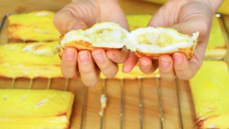自制水果派,金黄酥脆,香甜美味,做法超简单,10块钱能做8个