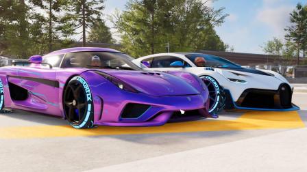 飙酷车神2:这车1档可以跑450码,大伙能猜到是什么车吗?