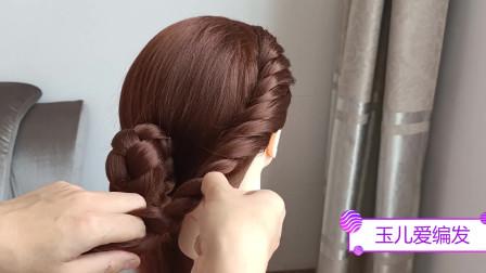 中年女人正式场合下发型不要随便扎,没气质,不礼貌,试试这么扎