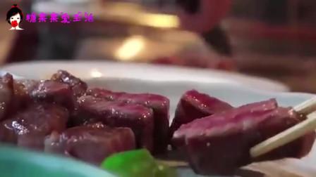 好吃到爆炸的神户牛肉铁板烧,看着都流口水!