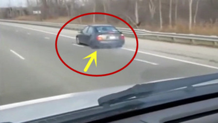 """司机突然""""神走位"""",轮胎掉了不知道,不是拍下谁信!"""