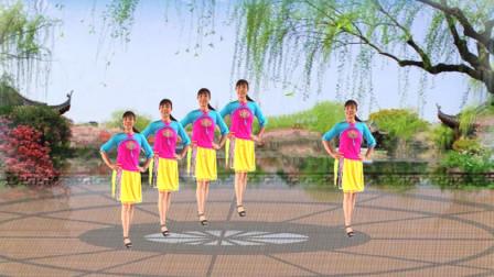 简单时尚最新广场舞《钱钱钱》新手入门32步 歌好听附教学