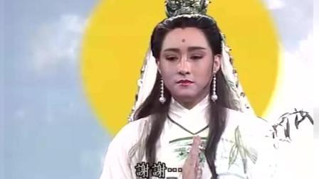 《新白娘子传奇》观音大士助白素贞出塔, 许仕林哭得让人心疼!