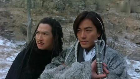 西门带陆小凤大战天门派掌门人, 这一段郑伊健演技太帅了!