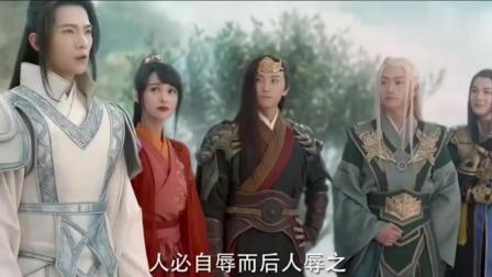 杨洋遇搞笑三兄弟, 一旁的郑爽笑的合不拢嘴