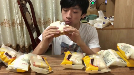 试吃某宝三款吐司面包,销量这么高也不见得特别好吃