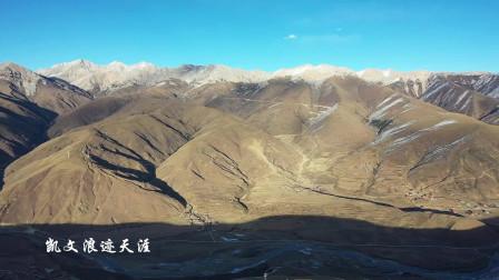 藏区炉霍县沿途风景迷人