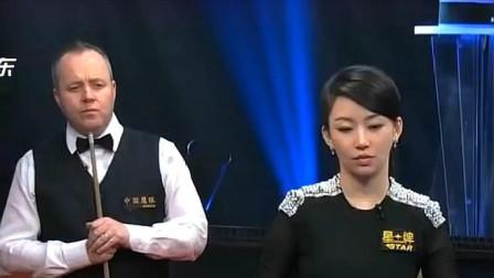 福利来了,潘晓婷与希金斯综艺同场竞技精彩回顾