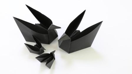 天鹅收纳盒,做法很简单,一分钟就能学会,漂亮还实用