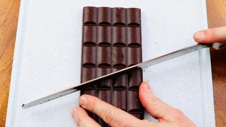 """号称""""永远吃不完""""的巧克力,到底有多神奇?老外亲自演示!"""