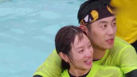 泳池派对朱亚文霸道护妻,Lucas水中热舞上演湿身诱惑,这也太帅了叭!