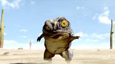 蟾蜍为了生存,想坑别人却坑了自己,看一次笑一次!