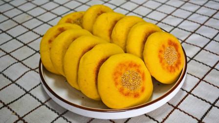 自从学会南瓜饼新做法,不用水不油炸,我家经常做来吃,外焦里软