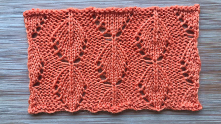 喜欢这款叶子花吗?立体有层次,织围巾帽子很帅气毛线编织简单方法