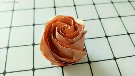 【折纸教程】贝利尔玫瑰