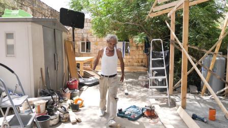 耶路撒冷10集:还在盖新房,感觉不到战争的气息