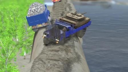 小货车司机技术真高,至少有40年驾龄了,有不服的吗?