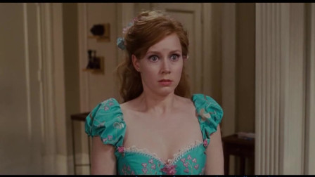 【魔法奇缘】吉赛尔用窗帘做礼服,给男主支招追南希