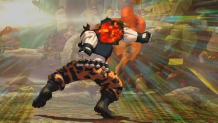 拳皇13:拉尔夫暴力宇宙幻影防空够狠,打中的瞬间内心无比激动