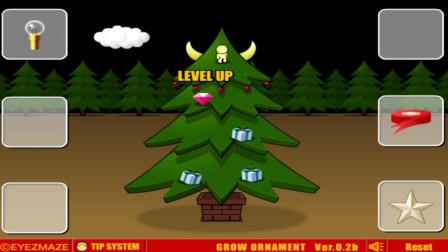 进化模拟器04:普通树进化成了圣诞树,我还组成了一座20米高的未来科技树!