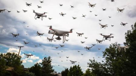 中国无人机迎来重大突破,上百架无人机同时起飞,美国都无法办到
