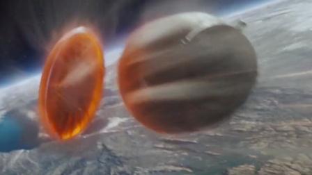 美女宇航员利用地心引力穿越大气层返回地球,这场面也太恐怖了