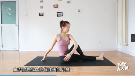 简单的一组动作带你按摩自己的腹部,让身体更加舒适,可以试一试