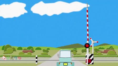 成长益智玩具,火车行驶经过时,车厢上的工程车直接在火车轨道上行驶!
