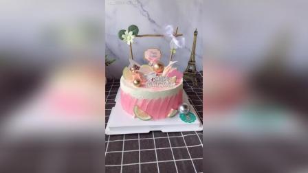 8寸, 花仙子主题生日蛋糕再走个, 老客户送给闺蜜的, 每年都会送