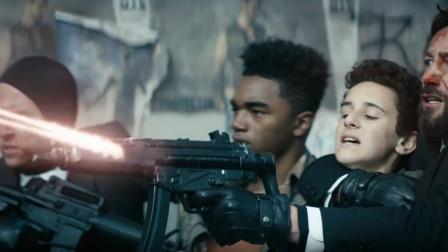 好莱坞最新高分猛片!悍匪遭遇最强超能警探,冲锋枪直接被融化