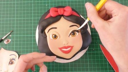 这么美腻的白雪公主是翻糖蛋糕做的!还有什么是甜品师不会的?