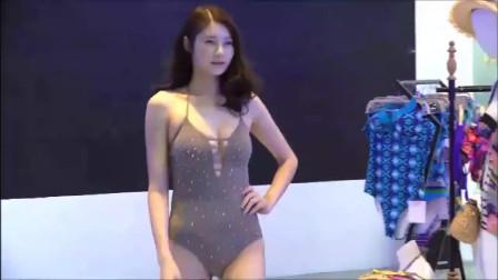 2019深圳内衣时装周模特走秀,模特穿出了让人神清气爽的美感!
