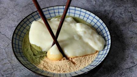 原来鲜奶麻薯的做法这么简单,想吃随时可以做,入口香甜软糯