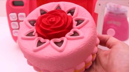凹凸有漫趣味DIY食玩:教孩子们制作生日蛋糕!
