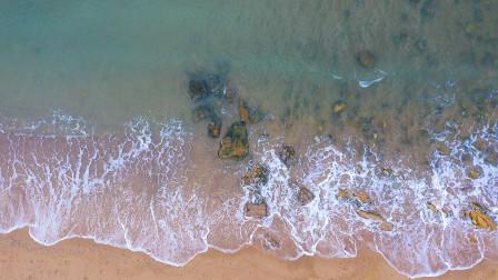 青岛的海浪