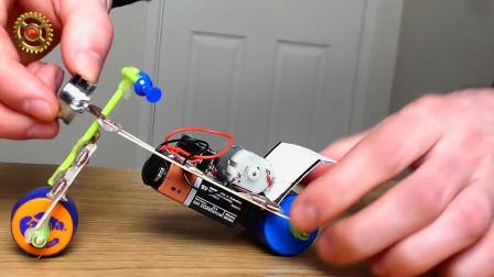 手工制作孩子喜欢的玩具,只需要塑料瓶盖,回家赶紧收集
