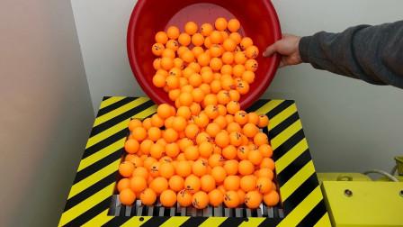 把1000个乒乓球放粉碎机里会怎样网友谁家炒菜油放多了
