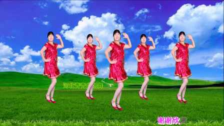 藏歌民谣《玛尼情歌》缘定三生,歌声纯净空灵,舞步动感优美