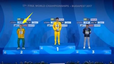 霍顿激怒中国孙杨,结果被孙杨甩开3米远夺冠平纪录,他还有话说?