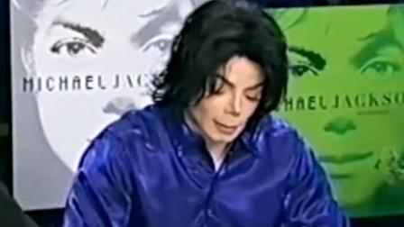 迈克尔杰克逊签售会都如此亲民,不愧是巨星