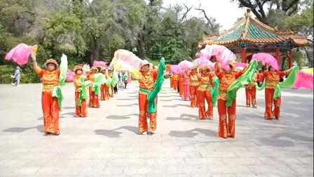 庆祝八一建军节-东北秧歌 唢呐曲:南泥湾+拥军花鼓