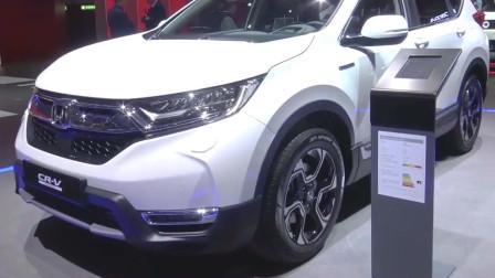 19款本田CR-V亮相车展,有这颜值还想着丰田RAV4吗?