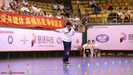 2019 丽水 全国轮滑锦标赛 少年男子花桩 甲组 2nd 阮俊钧