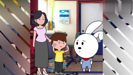 熊孩子不小心把手机摔碎了看兜兜兔的教育方法网友值得学习