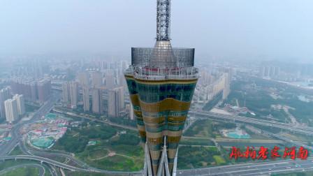 世界最高全钢结构发射塔,就在郑州,比埃菲尔铁塔还要高出63米