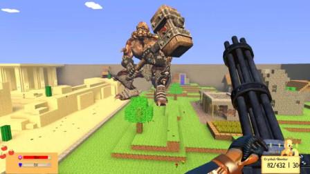 GMOD游戏小黑和奥特五兄弟合作能打败怪兽吗?